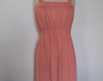 Vintage coral dress