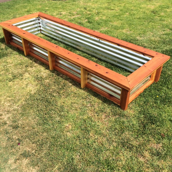 Large Redwood Planter Box For Tomatoes: Items Similar To Redwood Planter Box On Etsy