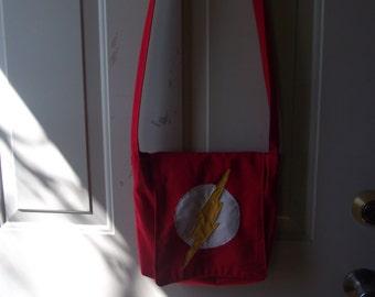 The Flash DC Comics Geek Cross Body Bag Messenger Bag Purse
