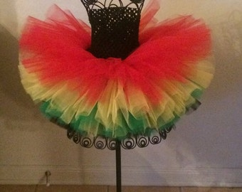 4-Layer TuTu Halter Dress