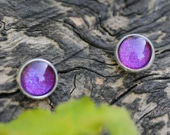 violet earrings tiny stud earings tiny earring studs tiny stud earrings tiny earrings small stud earrings post earrings for men