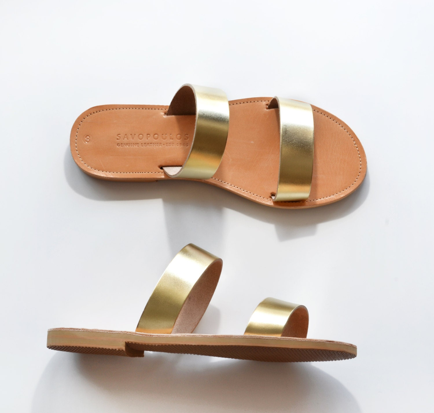 Leather Sandals Leather Sandals Women Greek Sandals Two