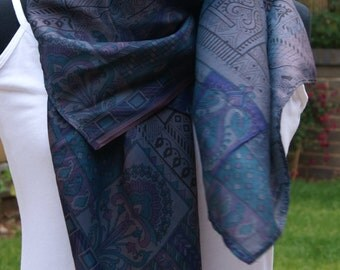 Large Silk Square Scarf