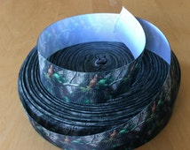 "Camouflage Grosgrain Ribbon 1"", Camo Ribbons, Tree Ribbons,"