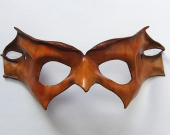 Leather Wildling Nature Spirit Mask