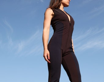 Casual sport brown blue stretch uniform.size 42