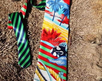 Vintage 90's BYBLOS tie.