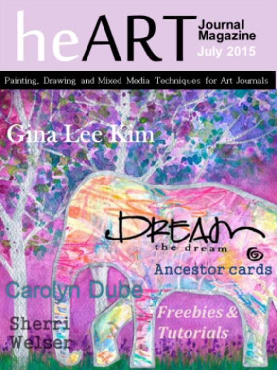 Heart Journal Magazine July 2015 Digital Download Only