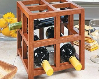 Countertop Wine Rack - 4 bottles