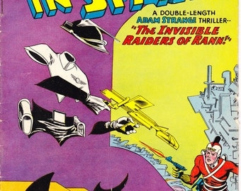 Mystery in Space 73, Adam Strange, Ranger, Outer comic book, Silver Age Robot, Alien, Astronaut. 1962 DC Comics in VG (4.0)