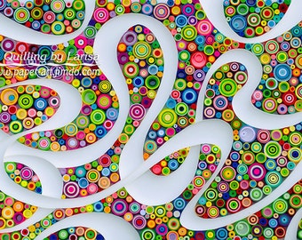 Quilling  Quilling art Quilling wall art Paper quilling Framed Gift quilling Birthday Decor  Design  Handmade quilling art