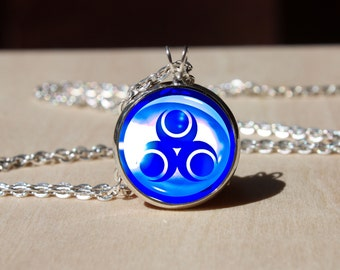 Handmade Nayru GODDESS PEARLS Necklace, Legend of Zelda pendant gift for Her Him, nekel free jewelry