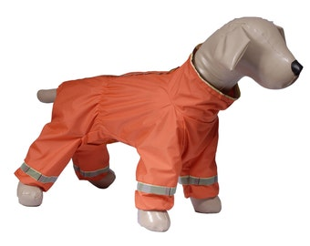Dog raincoat custom made