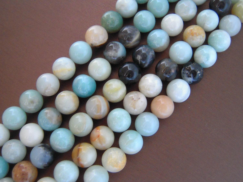 Natural Stone Beads : Amazonite beads natural gemstones