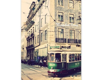 Lisbon Streetcar, Lisbon Print, Lisbon Photo, Lisbon Wall Art, Lisbon Art, Portugal Photo, Portugal Print, Home Art Decor, Streetcar Print
