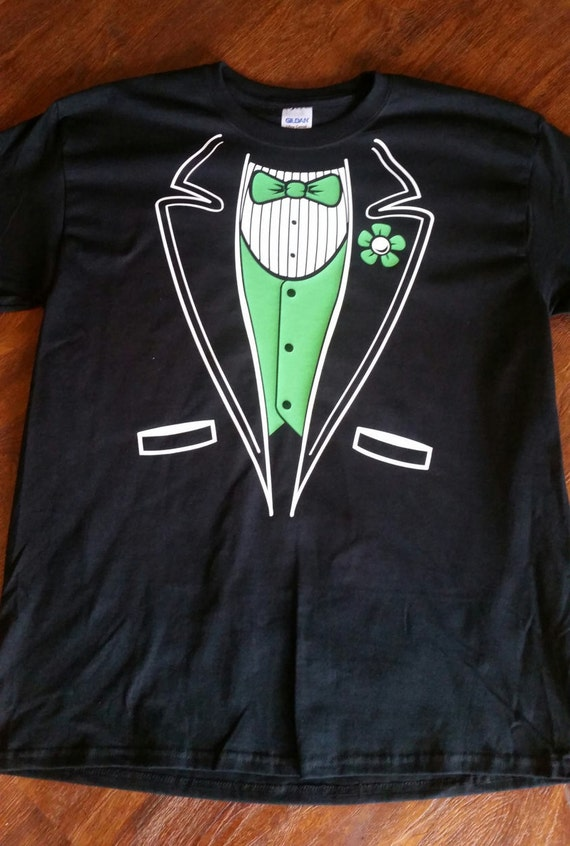 Tuxedo t shirt by bolingbrookapparel on etsy for Make your own tuxedo t shirt