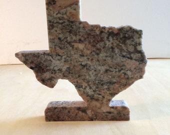 Standing Texas - 10 inch - Granite - Free Shipping