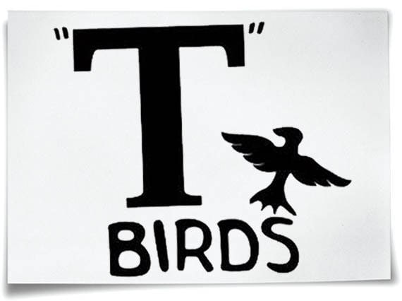 t birds t shirt b gelfolie fett jacke t bird john travolta. Black Bedroom Furniture Sets. Home Design Ideas