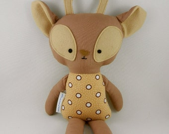 Deer Soft Toy Woodlands Animal Brown Child Gift