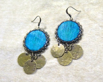 Adriatic Dangle Earrings - Croatia Collection - by Loschy Designs