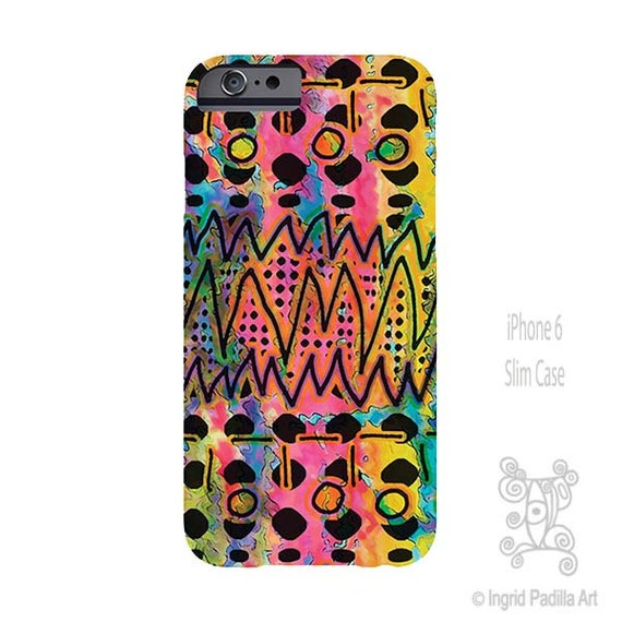 Tribal iPhone Case, iphone 8 case, iPhone 6s case, Galaxy S6 Case, Note 8 Case, iPhone 8 plus case, art on iPhone cases, ingridsart Art