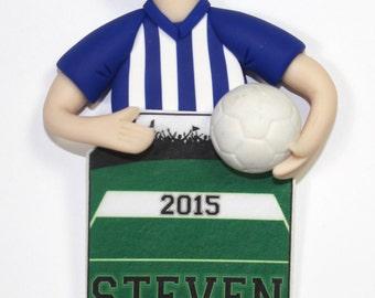 Soccer Player Ornament