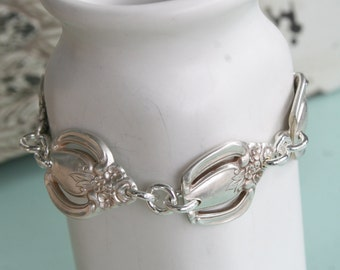 Fancy Multi Link Bracelet with Magnetic Clasp from Girl Ran Away with the Spoon