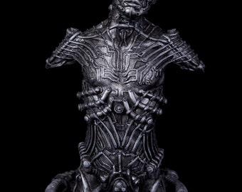 Fine Art Sculpture Automated Resurrection Bust