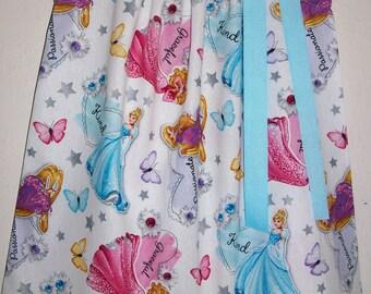 Pillowcase Dress Princess Dress with Butterfly Girls Dress Cinderella Rapunzel Sleeping Beauty Princess Party baby dress toddler dress