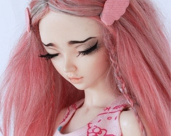 MSD Doll BJD clothes Minifee Pink wings hair clips MonstroDesigns Ready to ship MD23