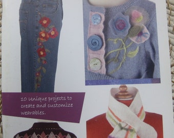Indygo Junction Needle Felted Fashions Book IJ1067