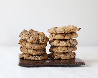 Gourmet Chocolate Chip Cookies with cherries, macadamia nuts, cocoa nibs - The Brooklyn Market Cookie