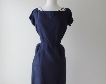 Hannah Troy dress | 1950s dress and jacket • vintage 50s dress