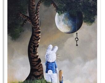 alice in wonderland, alice art prints, alice art, alice prints, art, prints, wall art, fantasy art, fairytale art, erback, white rabbit