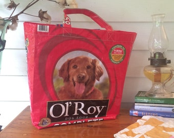 Up Cycled Environmentally Friendly Recycle Tote Bag