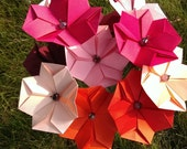 Origami flowers - classic cherry blossoms