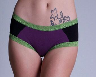 Soy and Organic Cotton Motley Panties