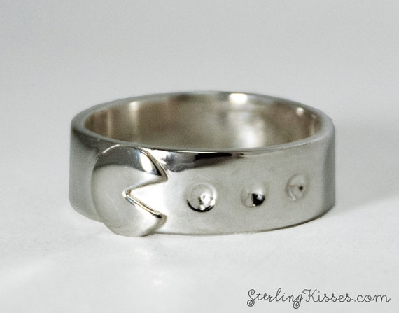 PacMan Ring Sterling Silver