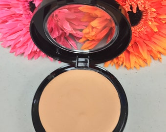 Natural  Cream To Powder Mineral Foundation   Perfect Match™ With Argan Oil  Acne Safe foundation   MEDIUM LIGHT