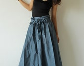 Wide Pants cotton mixed silk in 2 sizes M, L  (244) Colour No. 10 ...Boho/Funky pants