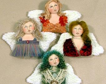 Heavenly Wings pin doll or ornie E-PATTERN
