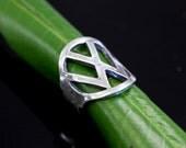 Vintage VW Beetle Key Finger Ring Volkswagen Automotive Motors Car 164