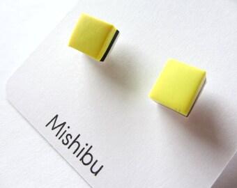 Yellow 'CANDY' Earrings