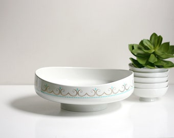 Mid Century Modern Cotillion Serving Set by Ben Seibel for Iroquois China Co.