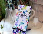 Cell Phone Stand Science - Digital Design - Periodic Table of Elements - Chemistry Nerd Geek Gift Idea