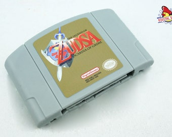 SOAP Nintendo N64 Cartridge, Zelda Ocarina of Time Parody, Zudsa Ocarina of Grime, Retro Video Game Geek Gift