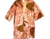 Mens Batik Shirt 90s Funky Shirt Sz L to Sz XL