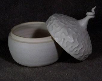 Ceramic box, one of a kind