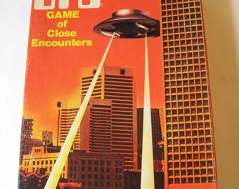 1978 UFO Board Game of Close Encounters Avalon Hill Sci Fi Flying Saucer