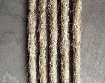 5 Custom Crocheted Synthetic Dreadlock Extensions Boho Dreads